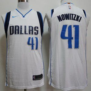 NEW NBA Nike Dallas Mavericks Dirk Nowitzki Jersey